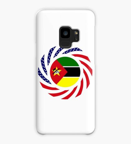 Mozambican American Multinational Patriot Flag Series Case/Skin for Samsung Galaxy