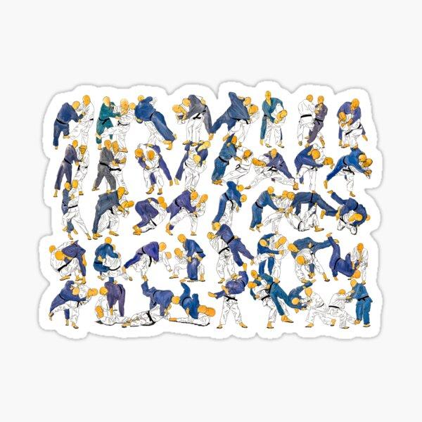 Judo Gokyo Sticker