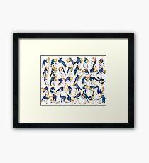 Judo Gokyo Framed Print