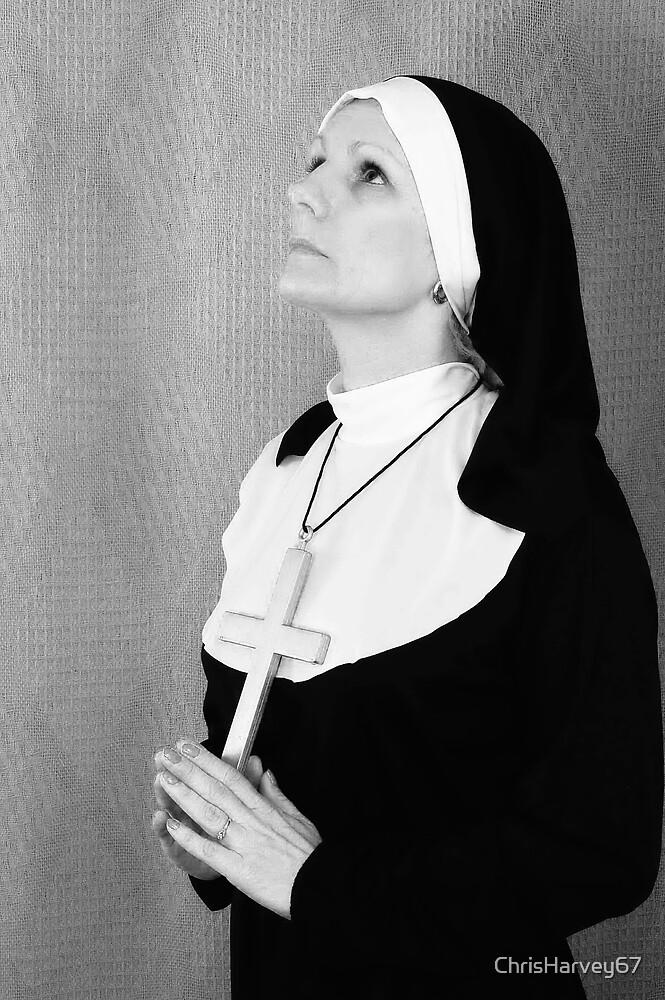 """Naughty Nun??"" # 1 by ChrisHarvey67"