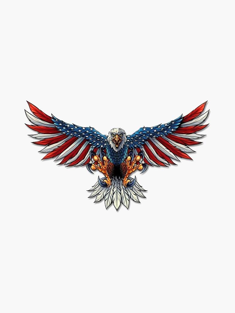 American Bald Eagle by PaintMeABlueSky