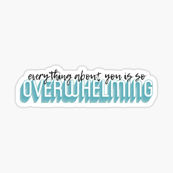 Everything About You Is So Sticker