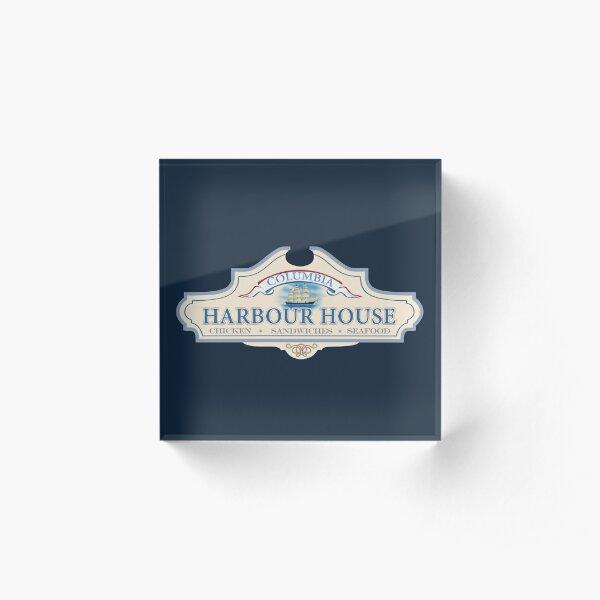 Columbia Harbour House Acrylic Block
