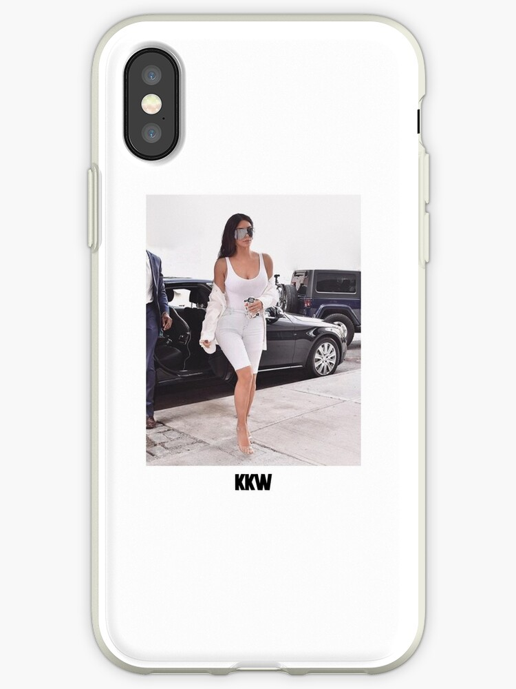 cheap for discount fc926 5b825 'Kim Kardashian KKW 2' iPhone Case by scultura