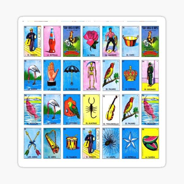 Lottery / Mexican Bingo Sticker