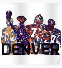 Denver Legends Poster