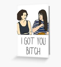 Sistas For Life Greeting Card
