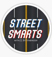 STREET SMARTS Sticker