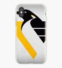 Pittsburgh Schwarz und Gold inspirierte Kunst iPhone-Hülle & Cover