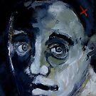 Blue portrait by Michele Meister