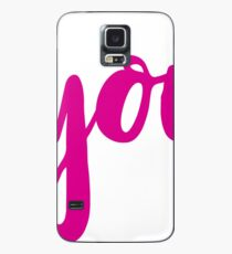 here you are. (pink) Case/Skin for Samsung Galaxy