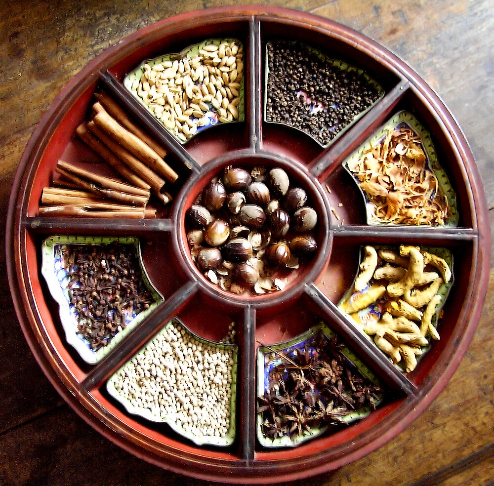 Malaysian Spices by Christopher Biggs