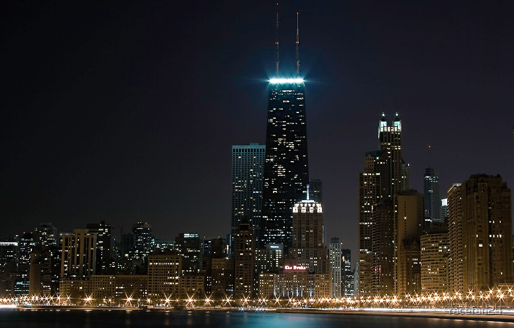 View from North Ave. Beach by racefan24