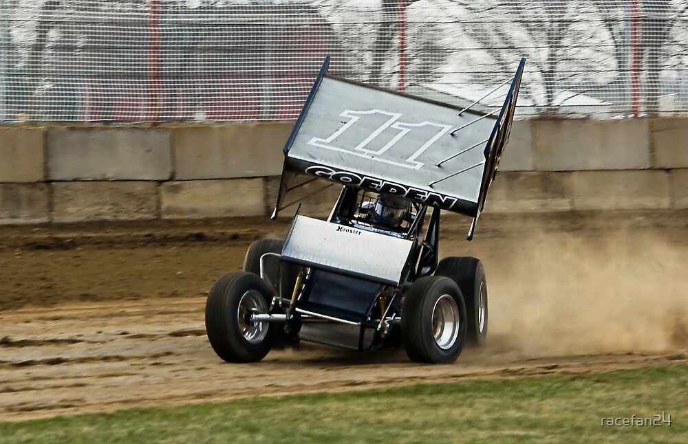 #11 IRA Sprint Car at Dodge County Speedway by racefan24