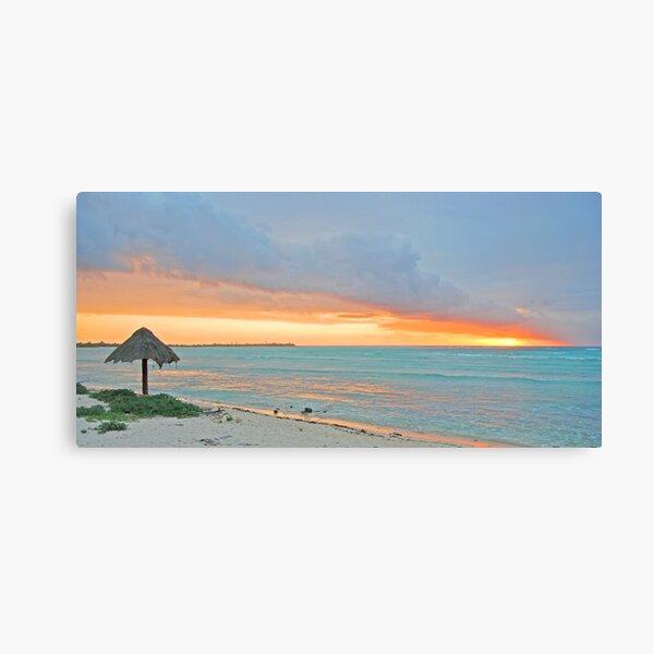 come softly,  sunrise Canvas Print