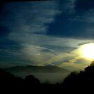 """Sunrise Over Valley Fog"" by waddleudo"