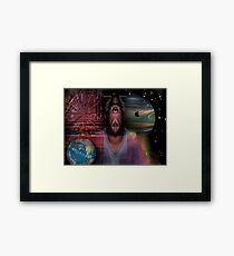Just another Alienvisitor Framed Print