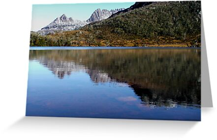 Reflections in Lake Lilla, Cradle Mountain  by cradlemountain