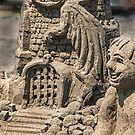 Sandcastle Detail von Celeste Mookherjee