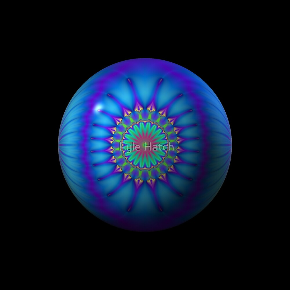 One. Blue. Ball. by Lyle Hatch