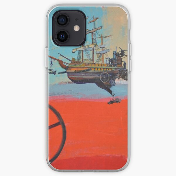 Illustration for SciPhi Journal issue #5 'HMS Mangled treasure' iPhone Soft Case