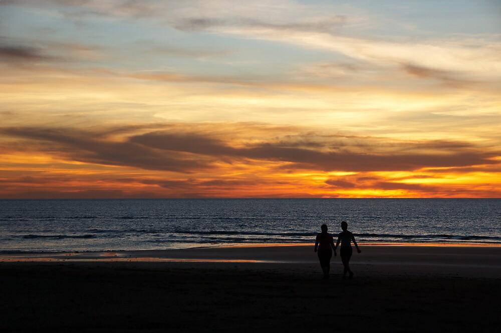 Evening Walk by Daniel Mitchell