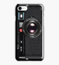 LEICA M9 Black iPhone Case/Skin