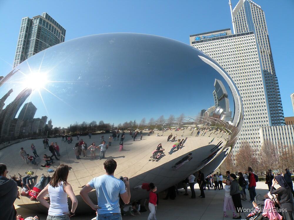 ...to catch the sun inside a bean by WonderlandGlass