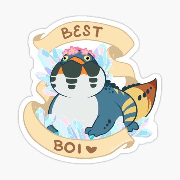 Dodogama Best Boi (MonHun: World) Sticker