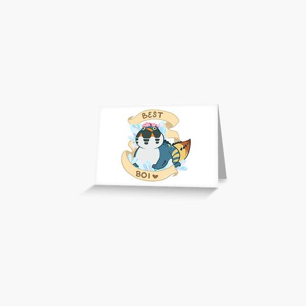 Dodogama Best Boi (MonHun: World) Greeting Card