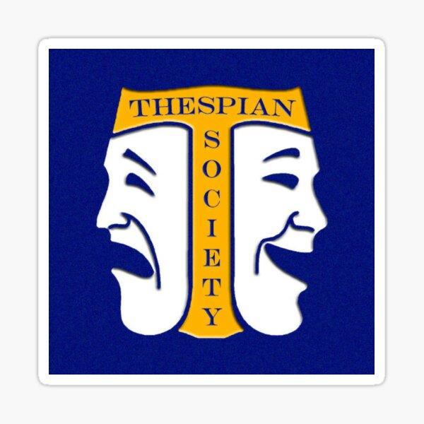 Thespian Sticker