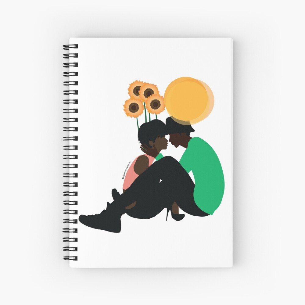 Love & Growth Spiral Notebook