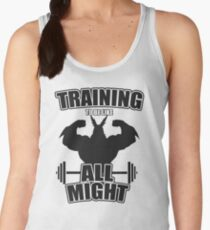 Training to be like All Might Women's Tank Top
