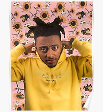 Amine X Flower Boy Poster