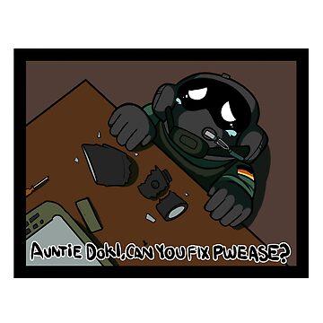 Pwease Fix Auntie Doki? by JThunderDraws