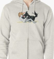 Padfoot and Remus Zipped Hoodie