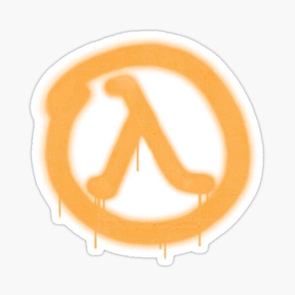 "Half Life 2 ""Lambda Cache"" Graffiti Spray Paint Sticker Sticker"