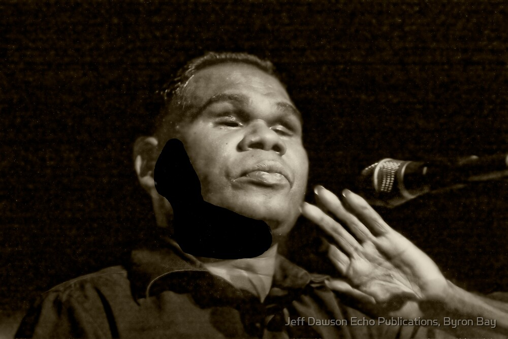 Gurrumul by Jeff Dawson Echo Publications, Byron Bay