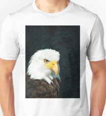 Simple Eagle in Space 1 Unisex T-Shirt
