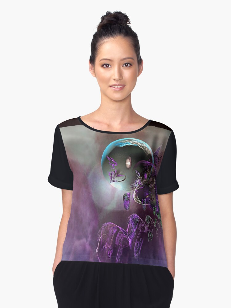 Another World Women's Chiffon Top Front