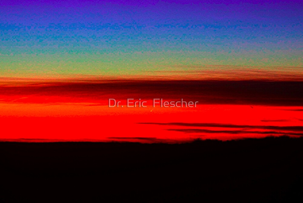 The Great Comet McNaught by Dr. Eric  Flescher