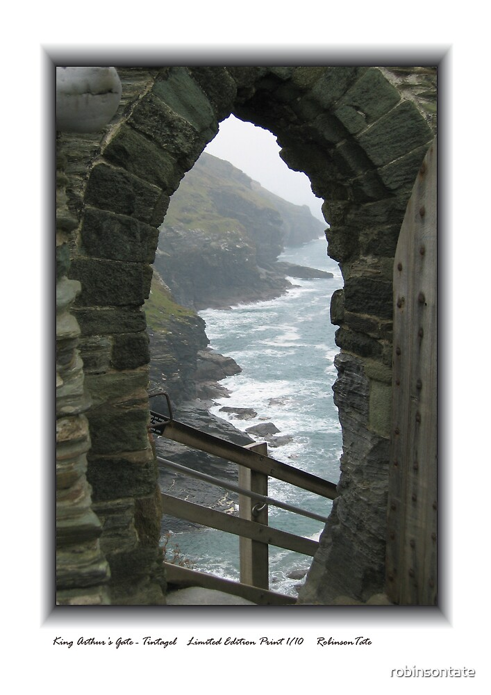 King Arthur's Gate - Tintagel by robinsontate