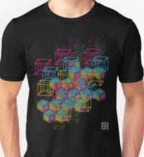 """""""Schlegel Wireframe 8-Cells""""© T-Shirt"""