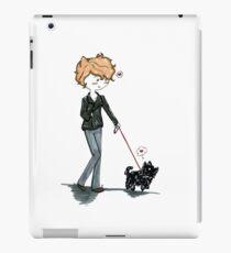 Remus walking Pafloof iPad Case/Skin