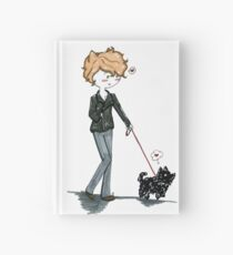 Remus walking Pafloof Hardcover Journal