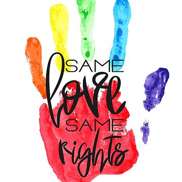 Same Love Same Rights by AnastasiiaM