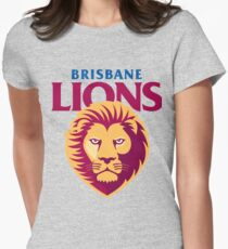 Brisbane Lions Women's Fitted T-Shirt