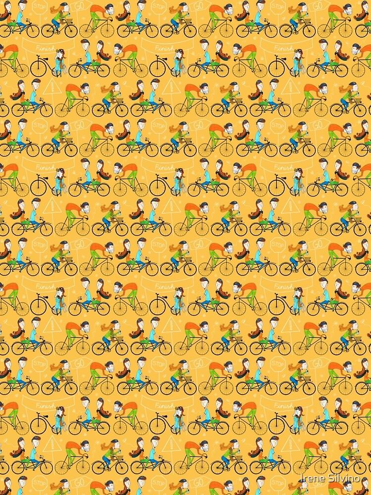 Pattern 81 - I love cycling!  by IreneSilvino