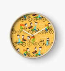 Pattern 81 - I love cycling!  Clock