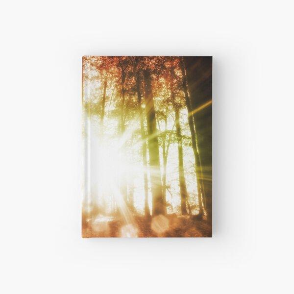 Woodland Sunburst Hardcover Journal